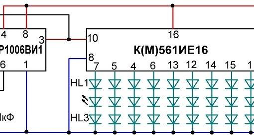 монтажные провода, схема и
