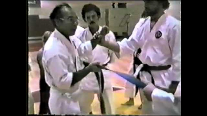 Oyata Seiyu shinshi seminar Fargo 1986 (poor quality) Part-1