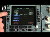 Baltic Aviation Academy Tutorial of Multi Control Display Unit on Airbus A320