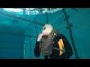 На себе проверил армейский дыхательный аппарат Military rebreather test