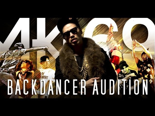 AK-69 BACKDANCER AUDITION