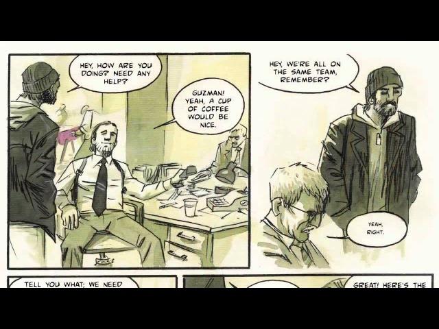 Кулинария комиксов, часть 3: Раскадровка сценария.