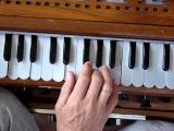Harmonium lesson Hare Krishna Maha Mantra 28 (Gopala Hari prabhu)