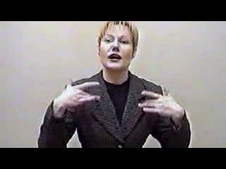 отвращение ---- русский жестовый язык