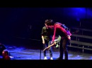12y.o. Kid (Davis) sings Longview w/ Green Day gets guitar! Patriot Center HiRES 4.4.2013