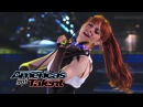 Lindsey Stirling: Former AGT Act Performs Shatter Me With Lzzy Hale - America's Got Talent 2014