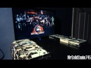 Mortal Kombat Theme on eight floppy drives
