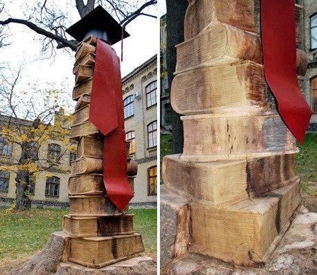 «Ступени познания»: поучительная скульптура в парке КПИ