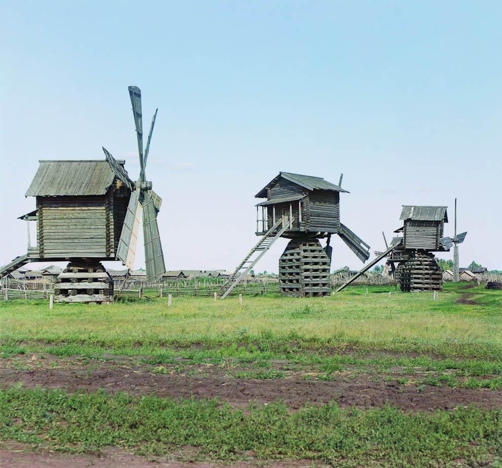 Мельницы в Ялуторовском уезде