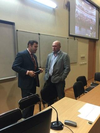 Михаил Павлов и Дмитрий Яромов
