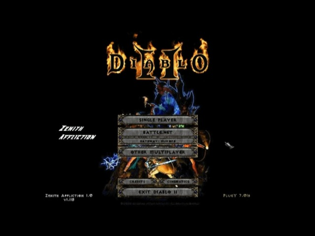 Обзор мода Diablo 2 Zenith Affliction от DRAKULA