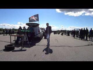Drag Weekend Rybinsk. 06-06-2015. Заезд Honda CBR 600 F4i и Suzuki GSR 600