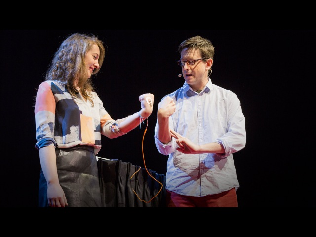 How to control someone elses arm with your brain | Greg Gage