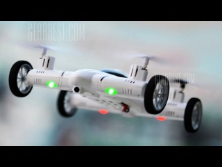 Презентация RC квадроавтомобиля SY X25 от Gearbest!