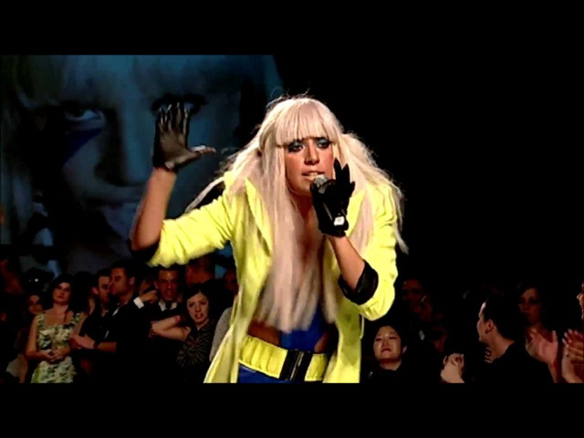 Lady Gaga - Beautiful Dirty Rich, Poker Face Just Dance Fashion At The Park 2008 live