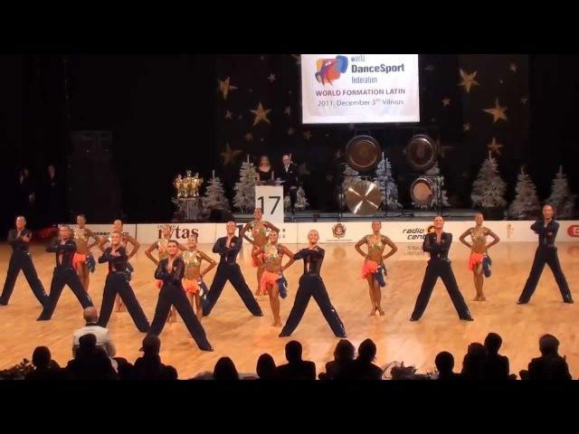 WDSF World Formation Latin 2011 - 2nd place Vera (HD)