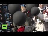 У посольства Украины в Москве прошла акция памяти жертв одесской  трагедии
