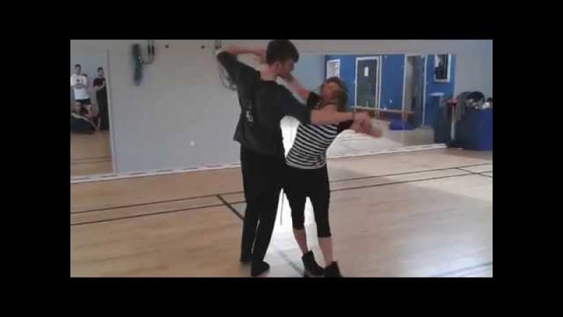 Jakub and Lucia - Aalborg impro demo 2014
