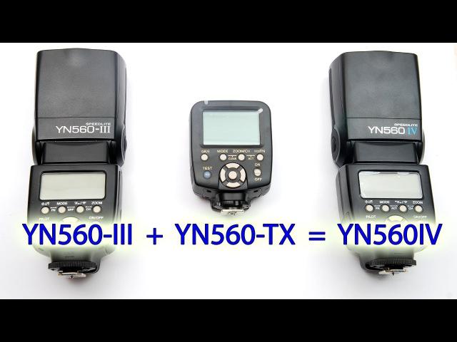 YONGNUO YN560IV Распаковка краткий обзор и инструкция по применению