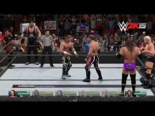 [#My1] NEXT-GEN Walkthrough: WWE 2K15 2K Showcase Part 8 — Six-Man Tag Team Match