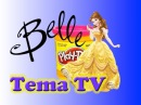 Набор «Платья для принцессы Белль» украшаем пластилином Плей до Play doh set MagiClip Princess Bel