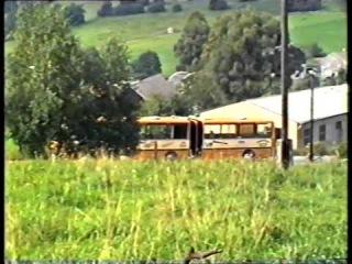 1993 Ikarus 280 unterwegs von Sebnitz nach Hinterhermsdorf