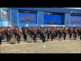 Мы Армия народа. Парад на Красной площади 9 мая, Москва.