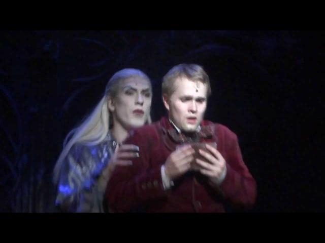 Бал вампиров (Tanz der Vampire).Сцена в библиотеке. Танец с Гербертом (Как нежная скрипка)