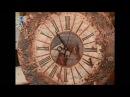 Декупаж часов объемным декором имитируя металлическую поверхность Мастер класс Наташа Фохтина