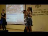 Анжелика и Настя поют песню
