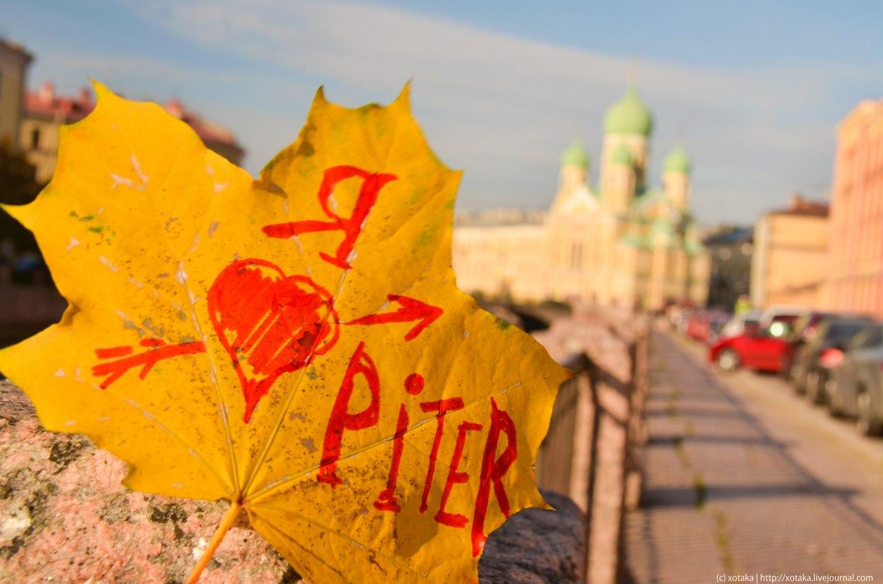Подарок из санкт-петербурга с любовью