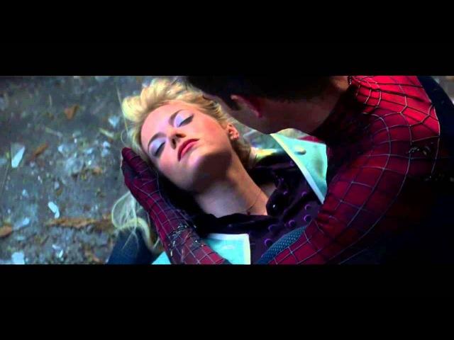 Самый грустный фрагментмоментотрывок из фильма Новый Человек паук Высокое напр...