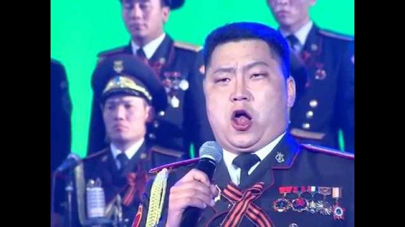 Русское поле - Б.Батбаатар Мужской хор Монголии / Russian field - B.Batbaatar Mongolian army choir/