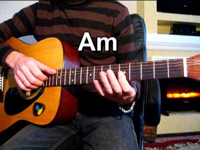 Любэ - Берёзы Тональность ( Аm ) Как играть на гитаре песню