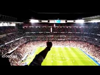 Ovación a Chicharito Hernández en el Santiago Bernabéu | Real Madrid 1-0 Atlético de Madrid UCL 2015
