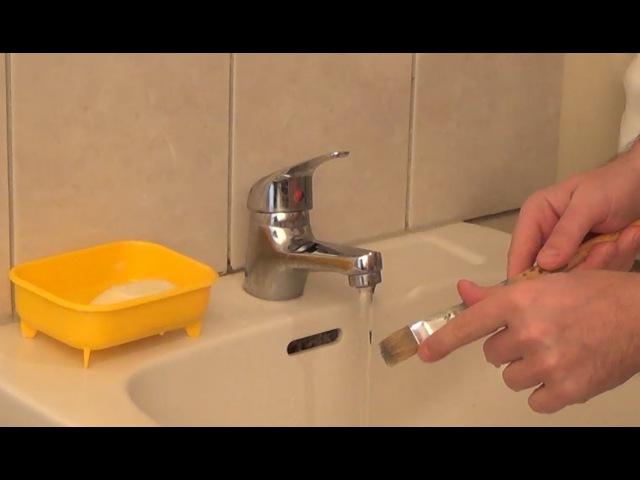 Как мыть и хранить кисти после работы с масляной краской