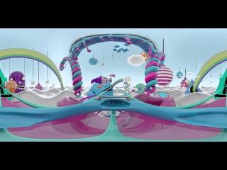 WOOW!!! Американские горки для детей, мультик, панорамное видео в 360 градусов!