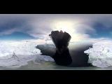 WOOW!!! Путешествия в виртуальной реальности! Антарктика панорамное видео 360 граду ...