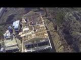 Одноэтажный каркасный дом возле Матоксы: начинаем крышу, летаем вокруг