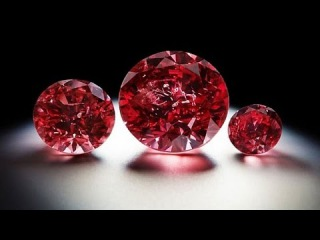 Самый редкий и дорогой Красный Бриллиант