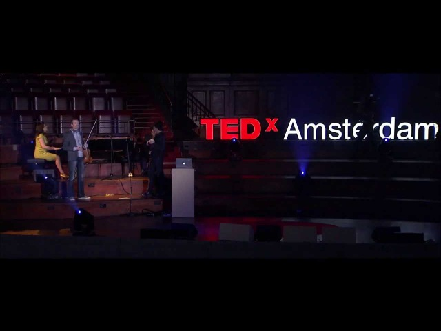 Colouring music with the Music Animation Machine Etienne Abelin at TEDxAmsterdam