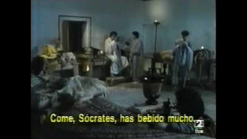 Сократ в диалоге Платона Пир. Фильм М.Феррери (1989 г.)