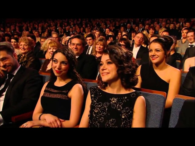 Canadian Screen Awards 2014: Anna Silk/Zoie Palmer Tatiana Maslany/Evelyne Brochu 15.03.2014