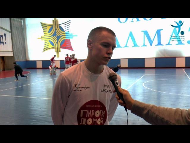 Дмитрий Ёлкин - Inter Lesgafta