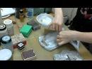 Декупаж кухонной доски видео мастер класс Натальи Жуковой Протравливание трансфер распечатки