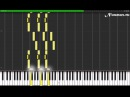 Nirvana - Smells Like Teen Spirit Piano Tutorial (Synthesia Sheets MIDI)