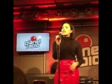 Demi Lovato performing Confident at Planet Radio - November 3rd 2