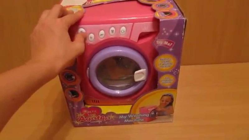 Детская игрушка видео обзор - стиральная машина 2015 (kidtoy.in.ua)