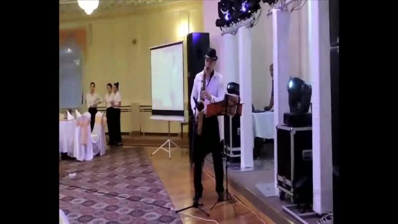 Илья Краснобаев - сакофон на свадьбу,банкет,день рождение Алматы