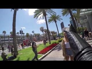 Дарт Вейдер душит людей на Comic Con